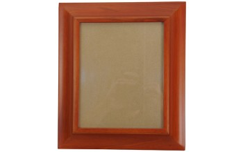 A007 - Picture Frame - Wood Urn - Light Cherry