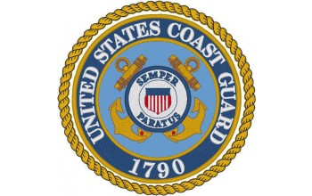 619-White - Coast Guard head panel
