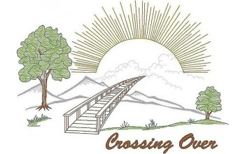 675-White - Crossing Over head panel